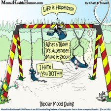 Illustration of What Is Mood Swings? Is It Bipolar?