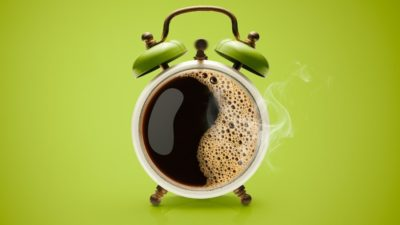 Illustration of Vision Rotates And The Body Crap After Drinking Coffee?