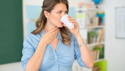 Illustration of Sore Throat When You Swallow, What Are The Symptoms Of Corona?