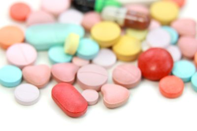 Illustration of Can Medicines That Fall On The Floor And Have Been Washed With Water Be Used?