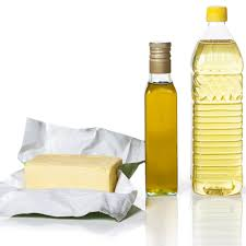 Illustration of Cooking Oil Or Margarine?