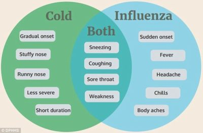 Illustration of Cough And Flu Without Fever