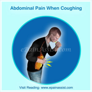 Illustration of Stomach Pain When Coughing?