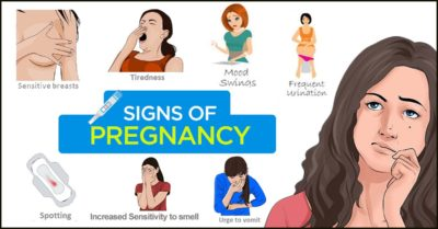 Illustration of Late Menstruation, Heartburn, Dizziness, And Nausea What Are The Signs Of Pregnancy?
