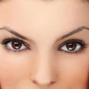 Illustration of The Right Eye Looks Like A White Shadow