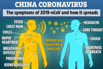 Illustration of What Are The Symptoms Of Corona Virus?