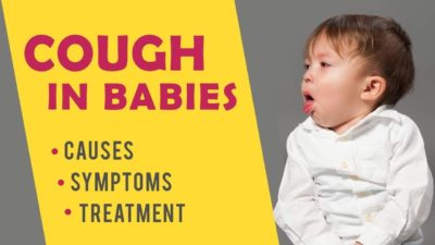 Illustration of The Cause Of Coughing Up Phlegm That Recurred In Infants Aged 10 Months?