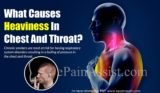 The Cause Of Chest Pain Accompanied By Sore Throat