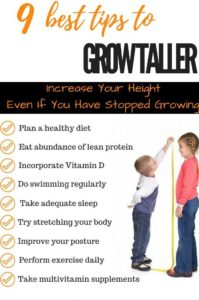 Illustration of How To Get Your Body Taller Quickly?