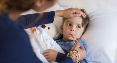 Illustration of Treatment Of Cough Accompanied By Fever In Children Aged 1 Year?
