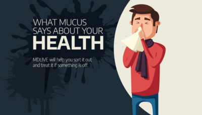 Illustration of Viscous Mucus In The Nose, Throat Uncomfortable And Coughing Is A Symptom Of Corona?