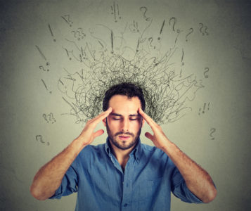 Illustration of Excessive Anxiety Accompanied By Mood Swings And Excessive Thinking?