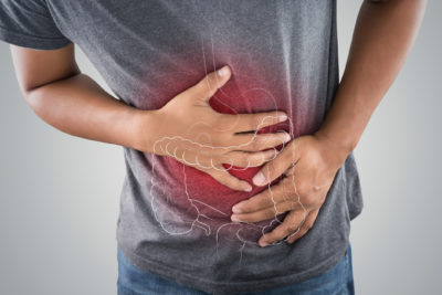 Illustration of Stomach Aches, Hardened, Until Difficult To Breathe, Accompanied By Aches?
