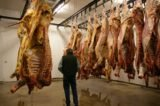 Handling Of Meat That Hangs On The Back?