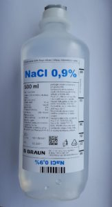 Illustration of Difference In Nacl Content Of 0.9 For Infusion And For Lab Purposes?