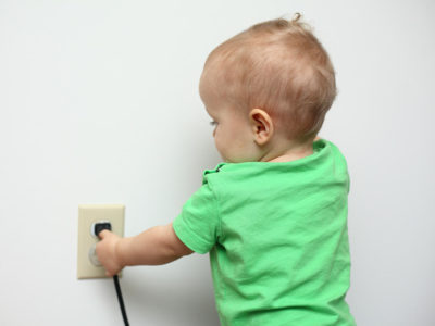 Illustration of Can A Child Be Electrocuted With A Fever?