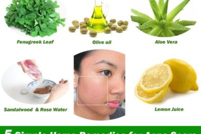 Illustration of The Use Of Herbal Oil To Remove Scars?