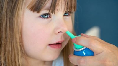 Illustration of Overcoming The Discharge Of Nasal Mucus Of Children Who Do Not Stop?