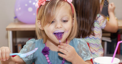 Illustration of Causes Of Purple Tongue In Children?