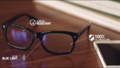 Illustration of Will Wearing Ordinary Glasses Protect The Eyes From Computer Radiation?