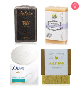 Illustration of Selection Of Soap For Dry Facial Skin?