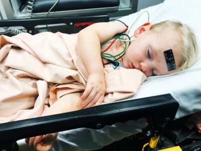 Illustration of 2-year-old Child Weak And Fussy After A Febrile Seizure?