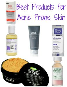 Illustration of Treatment For Acne Prone Skin