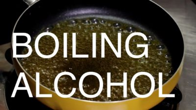 Illustration of Is It Dangerous To Boil Alcohol?