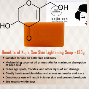 Illustration of The Use Of Kojie Soap Is Accompanied By The Use Of Cream From A Doctor