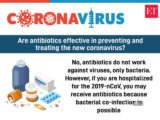 Are Antibiotics Effective At Preventing And Treating New Corona Viruses