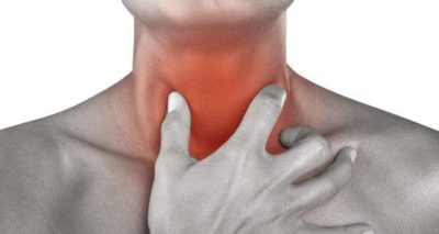 Illustration of Discomfort In The Throat Accompanied By A Burning Sensation In The Body