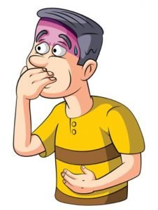 Illustration of How To Deal With Nausea, Vomiting And Diarrhea