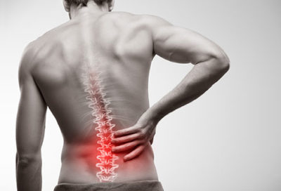 Illustration of The Cause Is Often Pain In The Lower Back