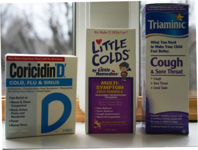 Illustration of Is It Safe For Toddlers To Take Cold Medicine Together With Antibiotics?