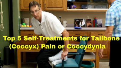 Illustration of Therapy For Coccyx Pain
