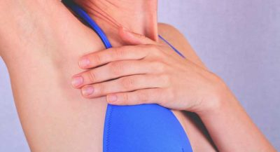 Illustration of The Cause Of Breast Pain To The Armpits Accompanied By A Hot Stomach