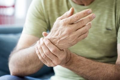 Illustration of The Right Hand Feels Weak, Aching Joints And Elbows Are Often Dislocated?