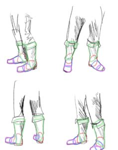 Illustration of How To Overcome The Shape Of The Foot XO At The Age Of 16 Years?