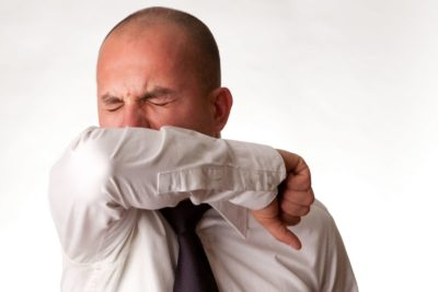 Illustration of Coughing When You Have Intestinal Inflammation?