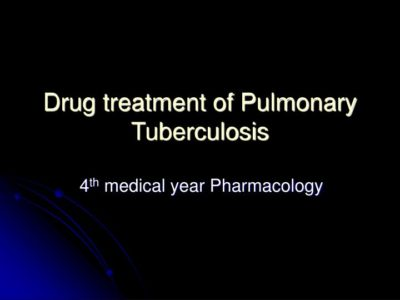 Illustration of Other Treatments For Pulmonary Tuberculosis?