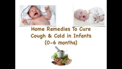 Illustration of Treatment Of Colds And Coughs In Infants?