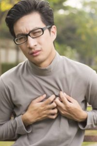 Illustration of Flatulence And Shortness Of Breath And Chest Pain?