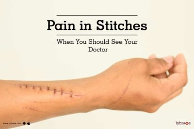 Illustration of Feels Painful In The Post-natal Suture Wound