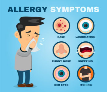 Illustration of How To Deal With Itching Due To Food Allergies?