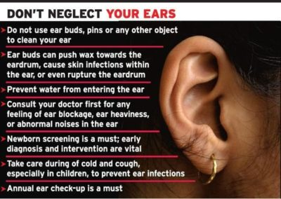 Illustration of Ear Pain And Hearing Loss After Cleaning?