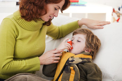 Illustration of Overcoming Fever In Children Accompanied By Shortness Of Breath?