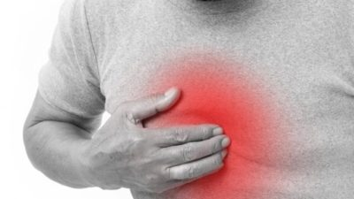 Illustration of Overcoming Heartburn Accompanied By Chest Pain To The Back After Late Eating?