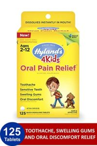 Illustration of Toothache Medicine For Children Aged 5 Years?