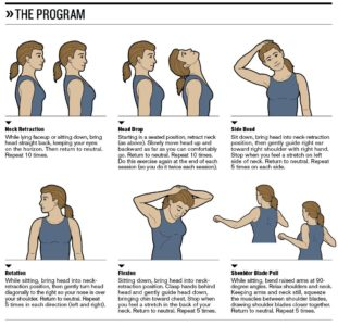 Illustration of Overcoming Neck Pain To The Arms Due To Wrong Sleeping Position?