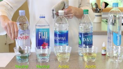 Illustration of Alkaline Water Why If You Drink It For A Sore Throat?